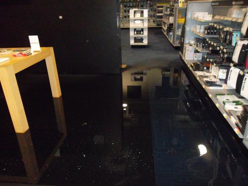 flooded basement basement water damage in north kansas city missouri