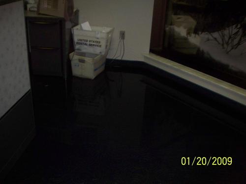flooded basement basement water damage in stanwood iowa 52337 jpg